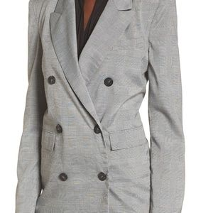 ASTR The Label Double Breasted Blazer, medium